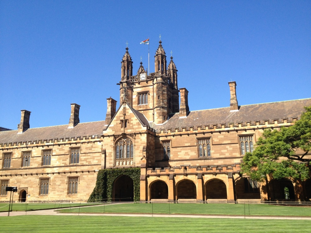 The University of Sydney Quadrangle, site of the 7th Annual Michael Hintze Lecture in International Security (Photo: Ben Foldy)