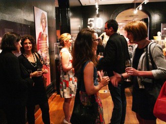 Q Symposium guests and University of Sydney staff enjoying the Hintze Lecture reception