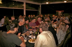 Last Q2 dinner. Photo: Gilbert Bel-Bachir.