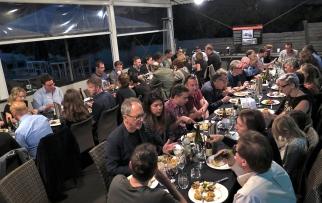 Having dinner The Boilerhouse Restaurant at Q Station. Photo: Gilbert Bel-Bachir.