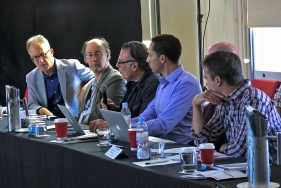 Some questions from the participants. Photo: Gilbert Bel-Bachir.