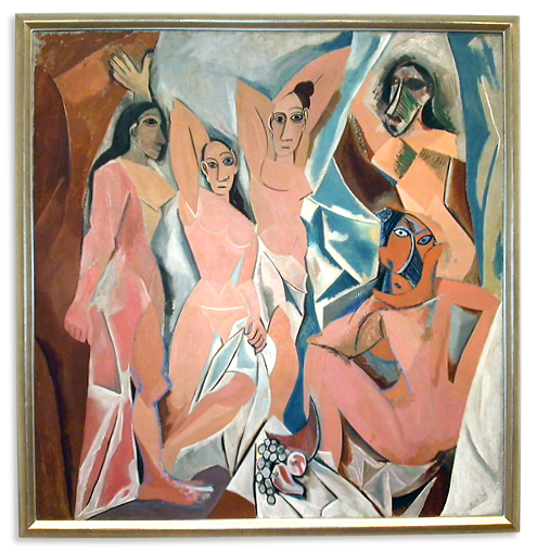 Picasso's 1907 Les Demoiselles d'Avignon. (Photo: MoMA)